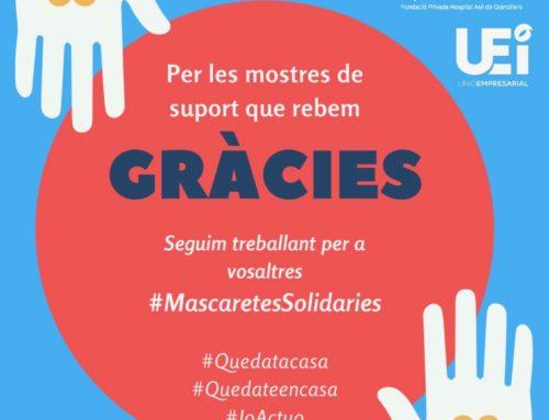 Col·laboradors Mascaretes Solidàries