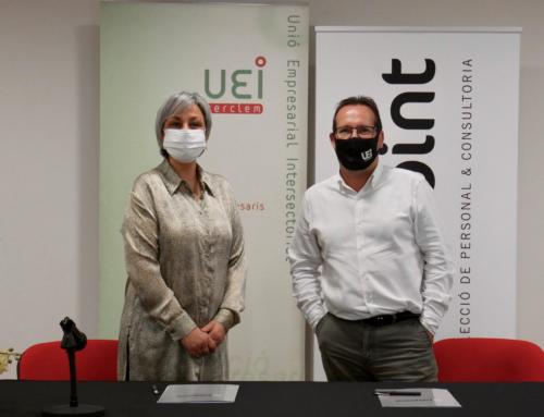 La UEI signa un acord d'intermediació laboral amb Helpoint Serveis per gestionar perfils professionals