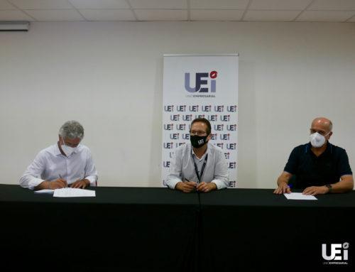 La UEI i Bellavista Enginyeria renoven el seu conveni de col·laboració dos anys més